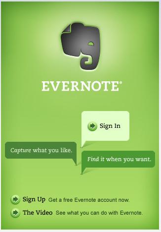 evernote Ücretsiz indirip kullanabileceğiniz 11 iPhone ve iPhone 3g programı ile cebinizi zenginleştirin resmi
