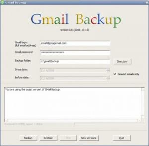 E-postanızı yedekleyin