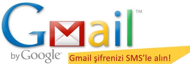 Gmail şifrenizi SMS ile alın