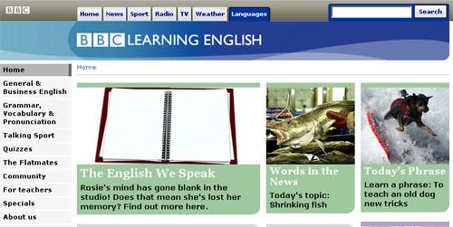 İnternetten İngilizce Öğrenmek: BBC Learning English internet üzerinde bulabileceğiniz en eski İngilizce öğreten kaynaklardan biri