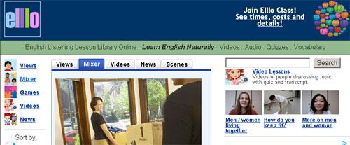 İnternetten İngilizce Öğrenmek: Ello - Kelime Hazinenizi Dinleyerek Geliştirin!