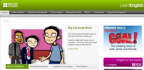 İnternetten İngilizce Öğrenmek: Site arayüzüyle özellikle çocuklara hitap ediyor