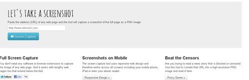 Web sitelerinin ekran görüntülerini kolayca alın
