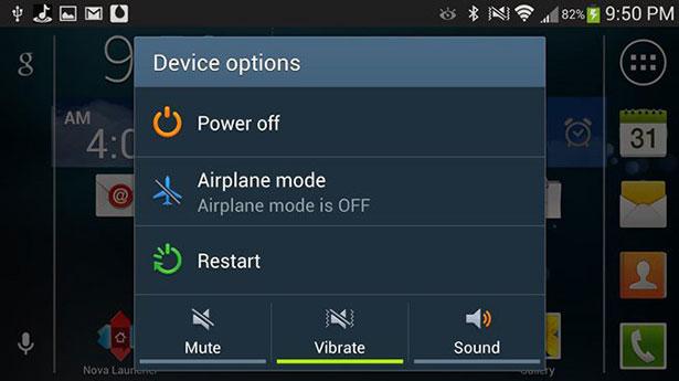 Android telefonu daha hızlı çalıştırmak: Android telefonunuzu yeniden başlatmak yavaşlama problemine çözüm olabilir
