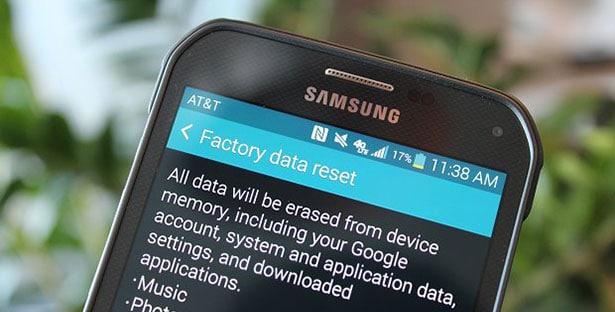 Android telefonu hızlandırmak: Fabrika ayarlarına geri dönmek telefonu hızlandırmak için başvuracağınız en son yöntem olsun