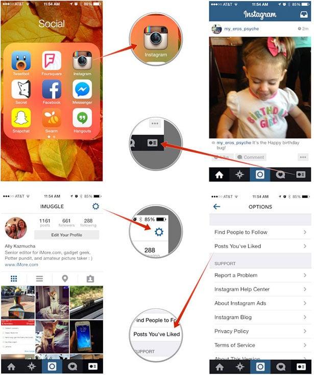 Instagram'da beğendiğiniz fotografları tek bir yerde görüntülemek çok kolay!